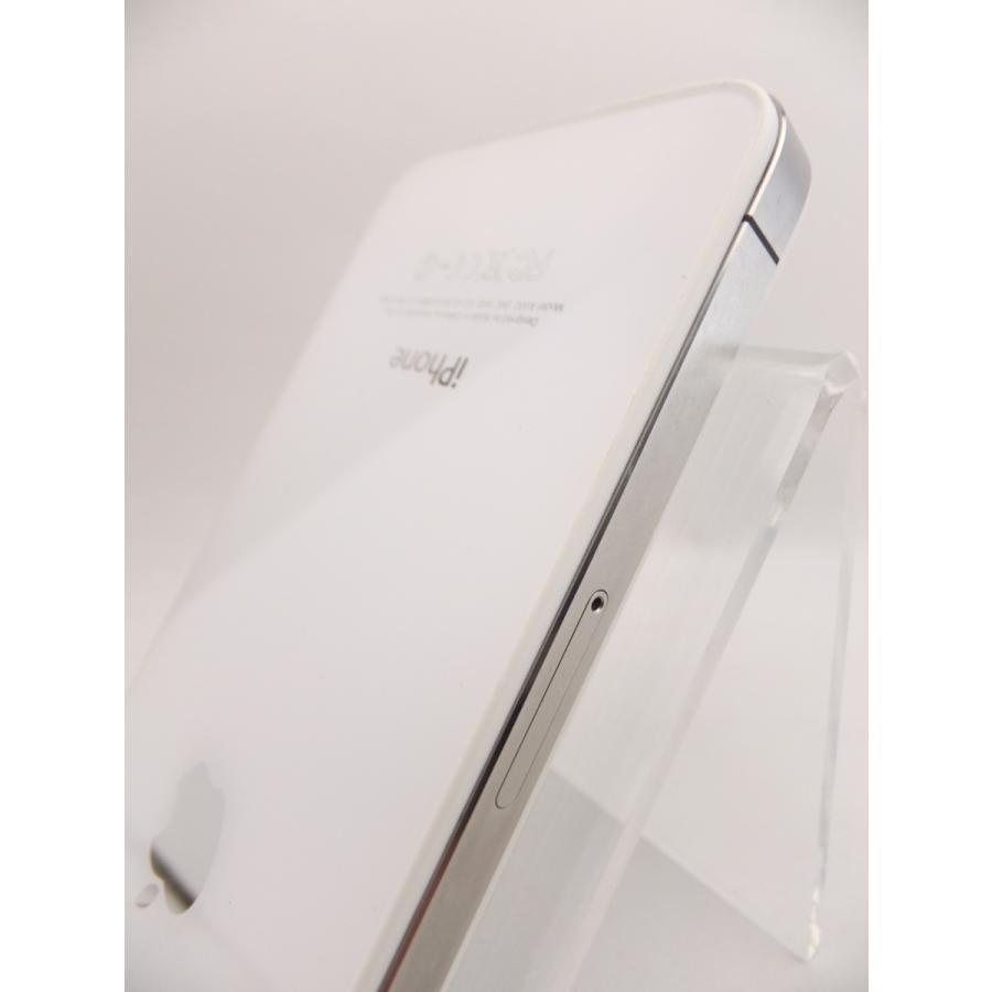 【ソフトバンクSIMロック】 iPhone4 16GB ホワイト MC604J/A #10559|reco|05