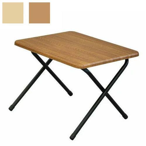 ワンタッチテーブル 小 入手困難 幅50cm 奥行き40cm 高さ35cm テーブル 折りたたみテーブル シンプル 大人気 ヴィンテージ 机 折りたたみ机 代引不可 木目