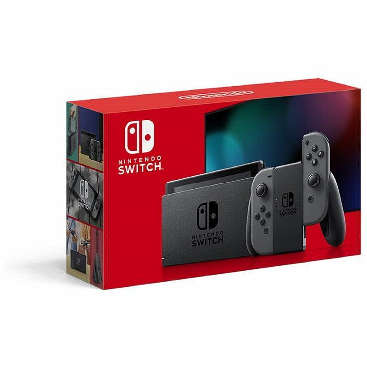 任天堂 Nintendo Switch ニンテンドースイッチ 新型 Joy-Con お中元 L グレー HAD-S-KAAAA スイッチ 春の新作 本体 ゲーム機 R