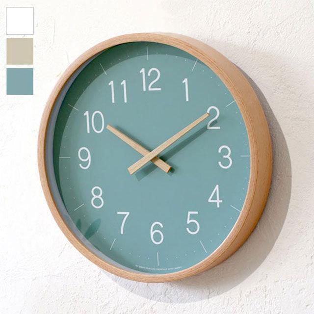 掛け時計 お中元 時計 壁掛け CAMPAS キャンパス ウォールクロック Sサイズ 木製 木目 グレー 音がしない 新作からSALEアイテム等お得な商品満載 直径21cm 北欧 ホワイト