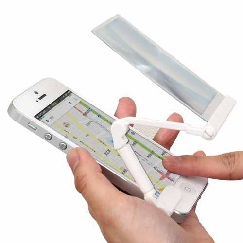 激安価格と即納で通信販売 サンコー iPhone5対応らくらく操作ルーペ IP5ROPLP スマートフォン タブレット 代引不可 その他アクセサリー 携帯電話 iPhone 在庫一掃売り切りセール