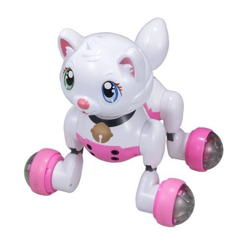 キヨラカ ロボット猫 かまってにゃん RN-N01 雑貨 ホビー インテリア ホビー キャラクター系 キヨラカ 代引不可