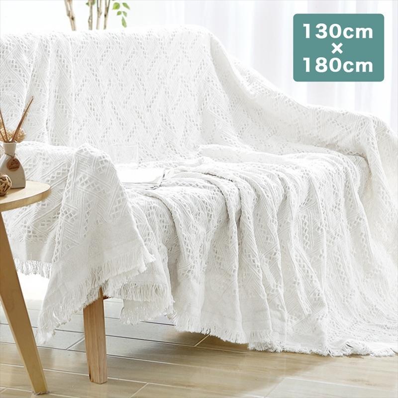 マルチカバー 北欧 40%OFFの激安セール ソファーカバー 長方形 中古 ベッドカバー ベッドスプレッド ソファカバー おしゃれ 6柄 綿 テーブルクロス 130×180cm 布