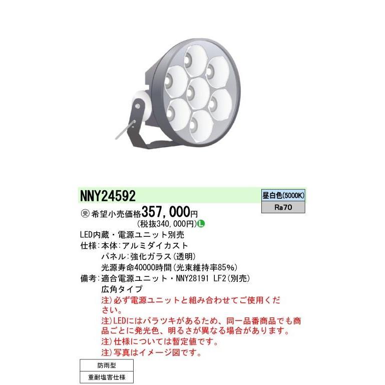 Panasonic パナソニック LED投光器 NNY24592
