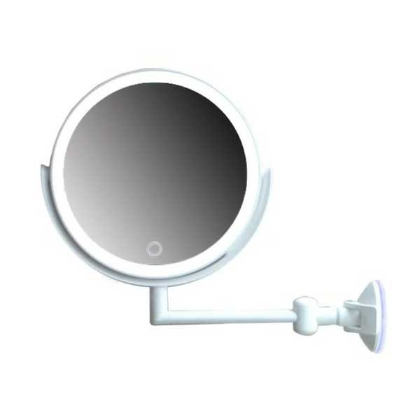 アクトレスミラー23LED 丸型 充電式 KW059B 代引不可 明るい ライト セール 春の新作続々 鏡