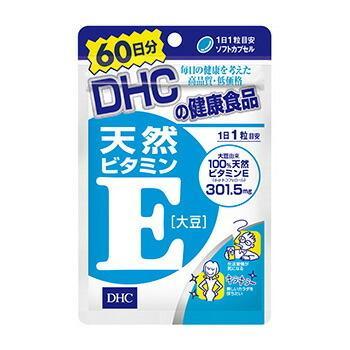 DHC サプリメント 天然ビタミンE 60日分 新作アイテム毎日更新 60粒 大豆 気質アップ