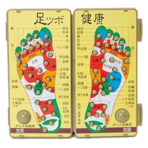 山佳化成 足つぼ健康ボード 茶殻入り 公式 VAS0201 業界No.1
