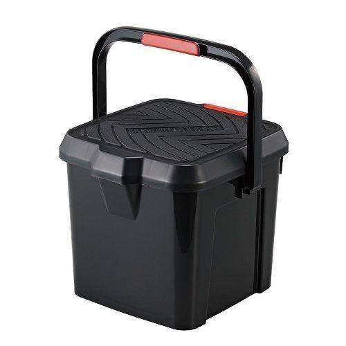 人気海外一番 イノマタ化学 かしこいバケツ 17L ブラック 3211BK 収納 限定価格セール 洗車 踏み台