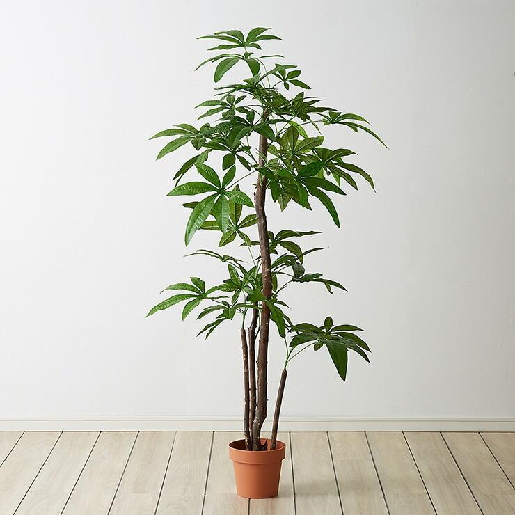 人工観葉植物 パキラ スタンダード フェイクグリーン インテリアグリーン 値引き 造花 フェイク 期間限定で特別価格 グリーン 人工 観葉植物 鉢植え 代引不可