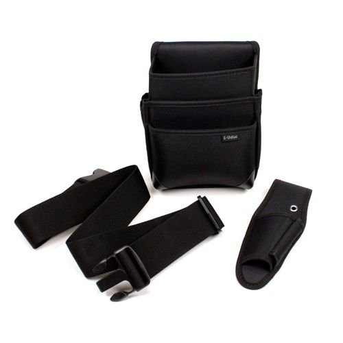 E−Value 電工腰袋3点セット‐ブラック 35%OFF ED3BOX-BKN 倉 サック2 大工道具:収納用品:その他腰袋