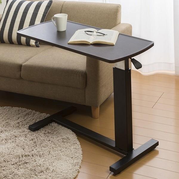 スタンディングデスク ガス圧 お気にいる 昇降テーブル 限定モデル ベッドサイド ソファサイド サイドテーブル デスク 在宅勤務 リモートワーク 机 代引不可