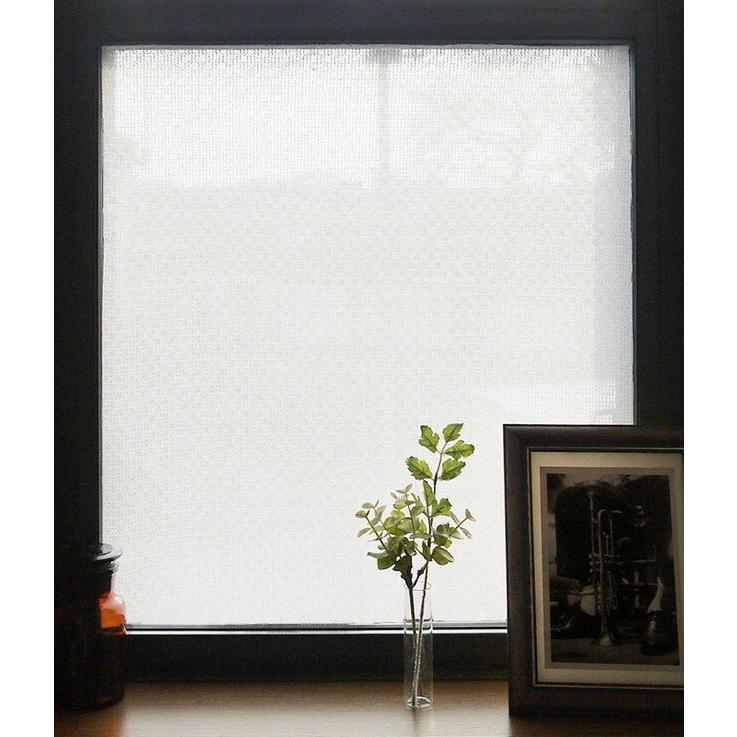 窓に貼る美濃和紙レース 90×90 レース 透かし 送料無料/新品 爆買い新作 窓 装飾 シート ガラス ガラスシート 代引不可