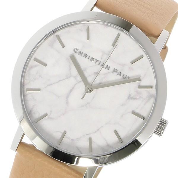 クリスチャンポール CHRISTIAN PAUL マーブル Marble AIRLIE ユニセックス 腕時計 MR-04 ホワイト