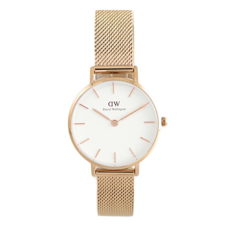 ダニエルウェリントン DANIEL WELLINGTON 腕時計 レディース クォーツ 人気ブランド DW00100219 ピンクゴールド 送料無料 待望 ホワイト