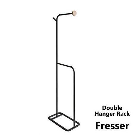 ダブルハンガーラック Fresser フレッサー 海外並行輸入正規品 ポールハンガー ハンガー ラック コートハンガー 洋服掛け 代引不可 新作 人気 ポールスタンド 衣類収納