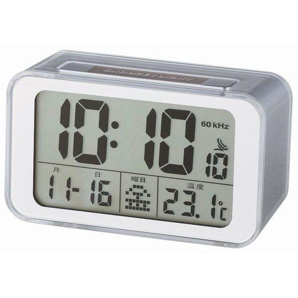 ソーラー電波時計 C-8264 ソーラー電波時計 C-8264/40点入り(代引き不可)