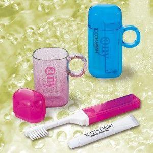 エニイ·セット 歯磨きセット (日本製) エニイ·セット ピンク/200点入り(代引き不可)