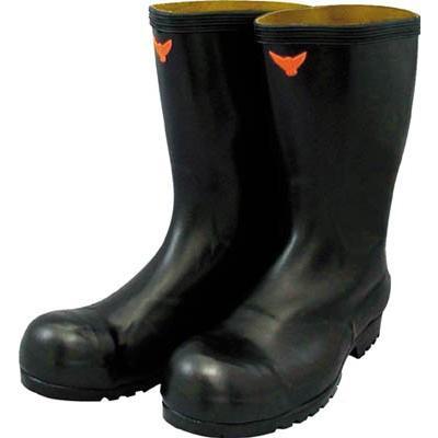 SHIBATA 安全耐油長靴 黒 SB021-29.0 安全靴・作業靴・安全長靴