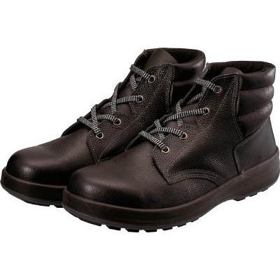 シモン 3層底安全編上靴 WS22BK25.5