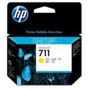 (業務用10セット) HP ヒューレット·パッカード インクカートリッジ 純正 〔hp711 CZ132A〕 イエロー(黄)