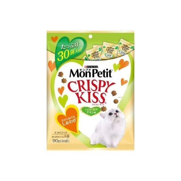 (まとめ) M クリスピーキッス贅沢チキン味90g 〔猫用フード〕〔ペット用品〕 〔×15セット〕