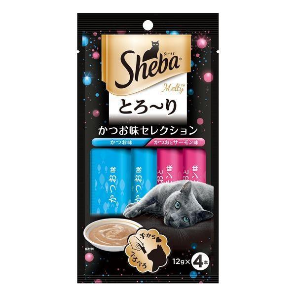 (まとめ) SMT11シーバメルティかつお味12g×4P 〔猫用フード〕〔ペット用品〕 〔×48セット〕