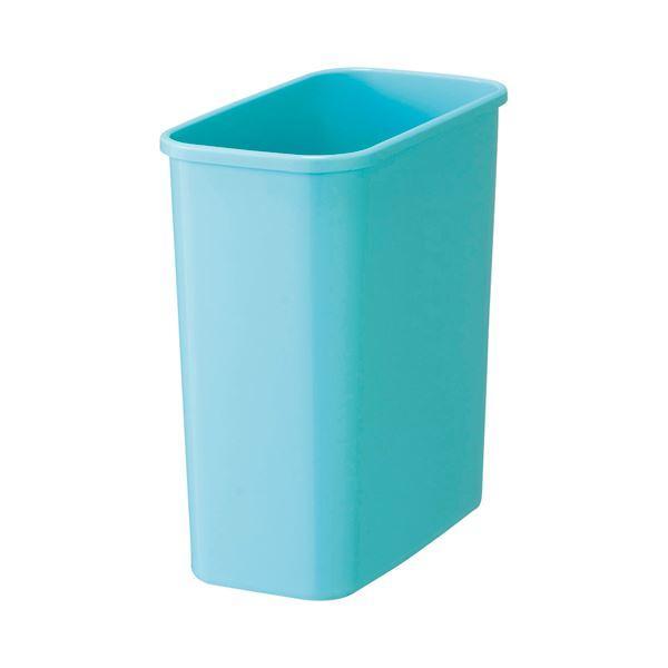 (まとめ)TANOSEE カラーダストボックスみずいろ 1セット(5個)〔×5セット〕