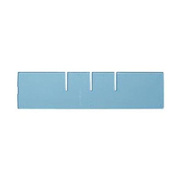 (まとめ)コクヨ レターケース(UNIFEEL)仕切板 深型横仕切り 透明 LCD-UNAW2 1台〔×50セット〕