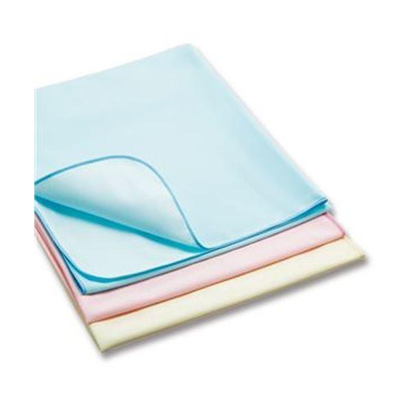 (まとめ)カネモ商事 Lor防水シーツスムースニットタイプ Lサイズ ピンク 1枚〔×5セット〕