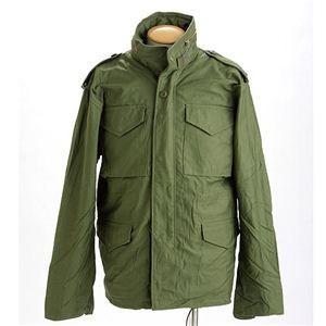 米軍 M-65 フィールドジャケット オリーブ M 〔 レプリカ 〕
