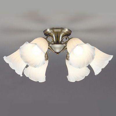 山田照明 LEDシャンデリア ~8畳 E26 LED電球9.1W×6灯 電球色 CD4293L