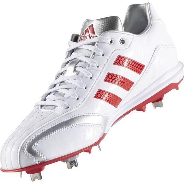 adidas(アディダス) アディピュアT3 LOW AQ8223 【カラー】クリスタルホワイト×パワーレッド×シルバーメット 【サイズ】25.5