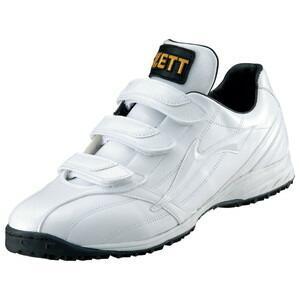 ZETT(ゼット) BSR8592 トレーニングシューズ/ラフィエットQX 1111 ホワイトxホワイト 25.0