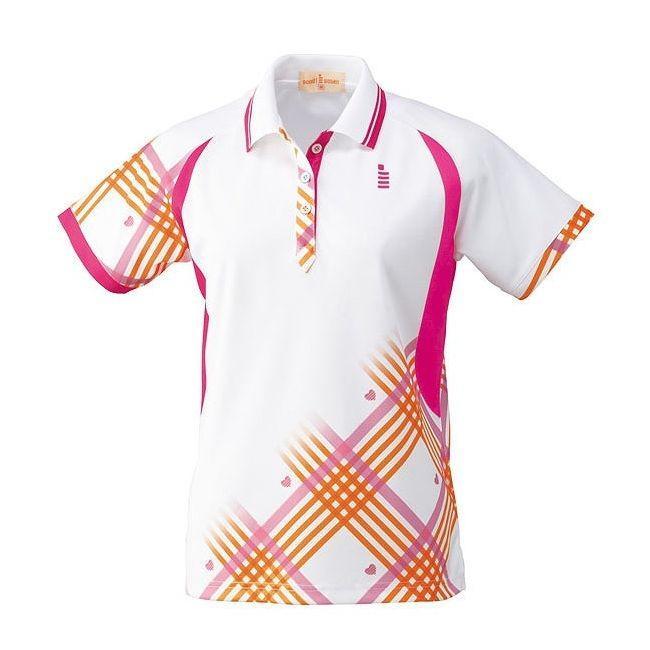 GOSEN ゴーセン T1403 レディースゲームシャツ T1403 カラー ホワイト サイズ LL