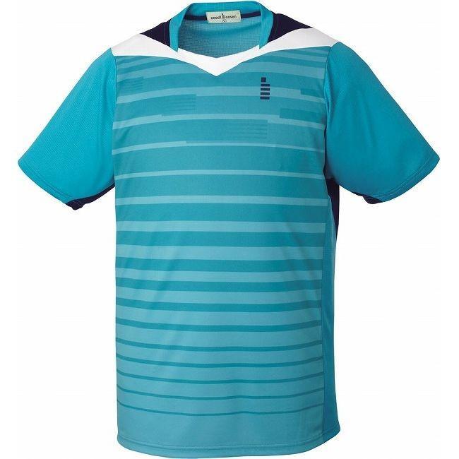 GOSEN ゴーセン ゲームシャツ T1512 カラー エメラルドブルー サイズ LL