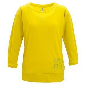 ダンスキン danskin フィットネスウェア 7分袖Tシャツ レディース DAG74351 ストロングイエロー SY リコメン堂 - 通販 - PayPayモール
