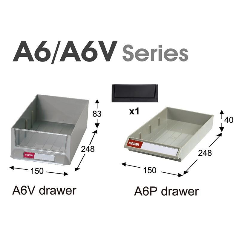 SHUTER シューター A6V-309 スチール製 収納棚 業務用|recoshop|02