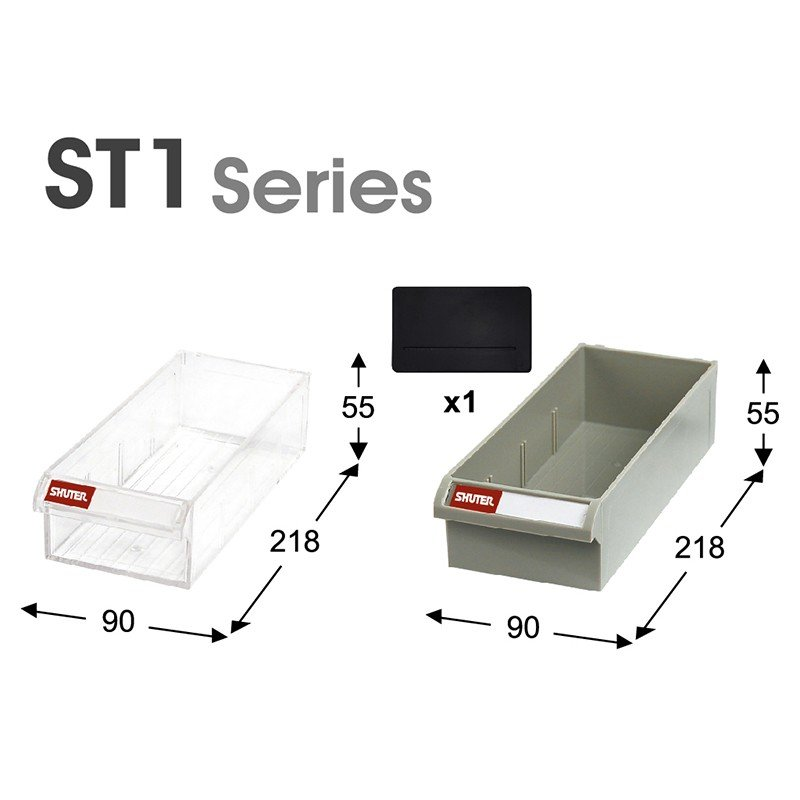 SHUTER シューター ST1N-525 スチール製 収納棚 業務用  部品 収納|recoshop|02