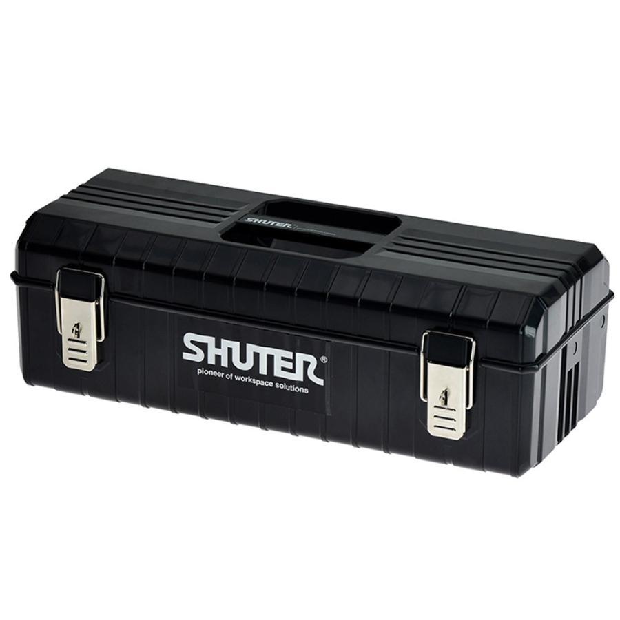 SHUTER シューター NTB-611 工具箱 ツールボックス 黒|recoshop