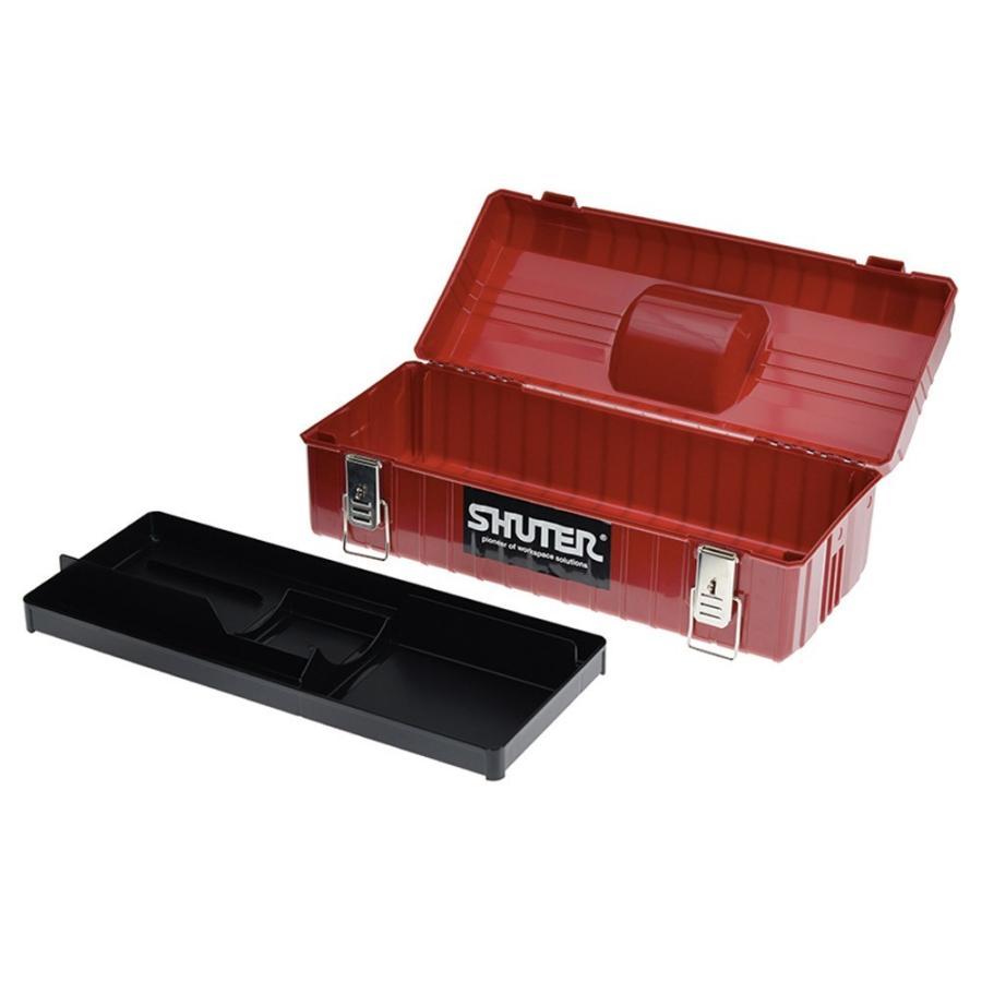 SHUTER シューター NTB-611 工具箱 ツールボックス 黒|recoshop|02