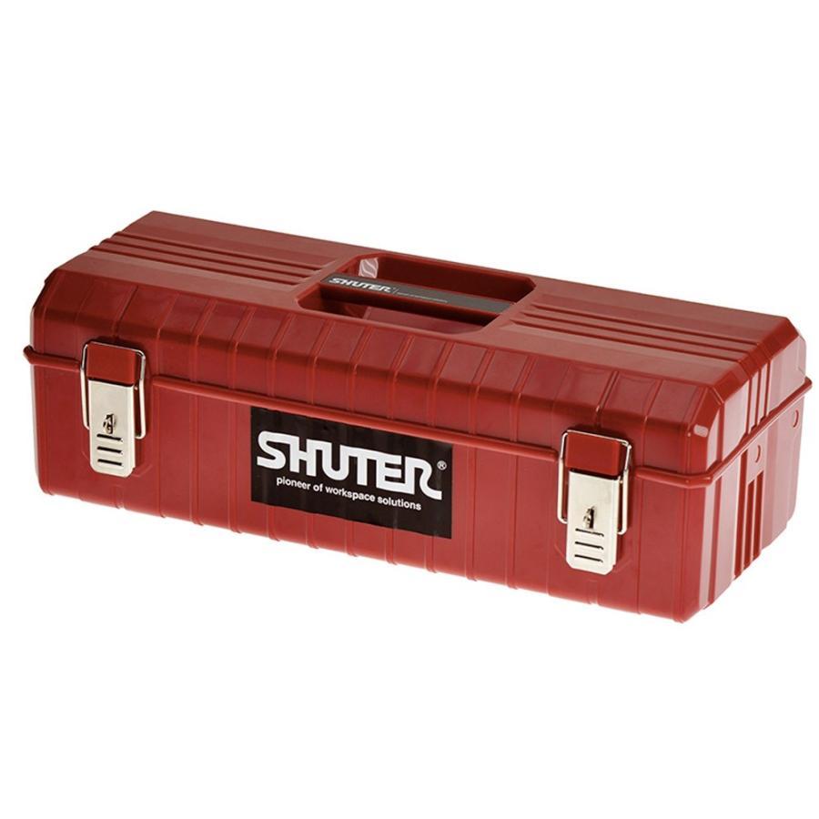 SHUTER シューター NTB-611 工具箱 ツールボックス 赤|recoshop
