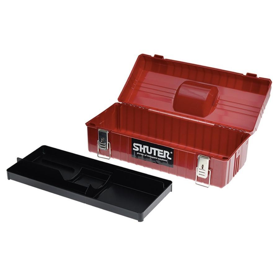SHUTER シューター NTB-611 工具箱 ツールボックス 赤|recoshop|02