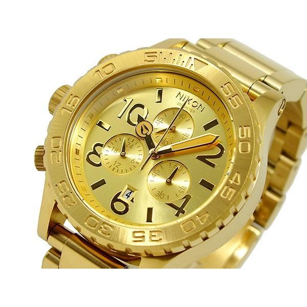 特価商品  ニクソン NIXON 42-20 CHRONO 腕時計 A037-502 ALL GOLD, フェリークショップ e0fed5a9