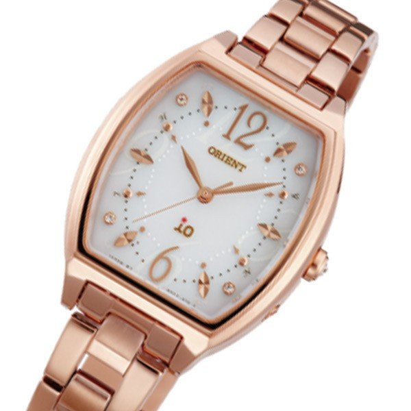 【超歓迎】 オリエント ORIENT イオ ソーラー レディース 腕時計 WI0151SD アイボリー 国内正規, KICHI-KICHE 65c679eb
