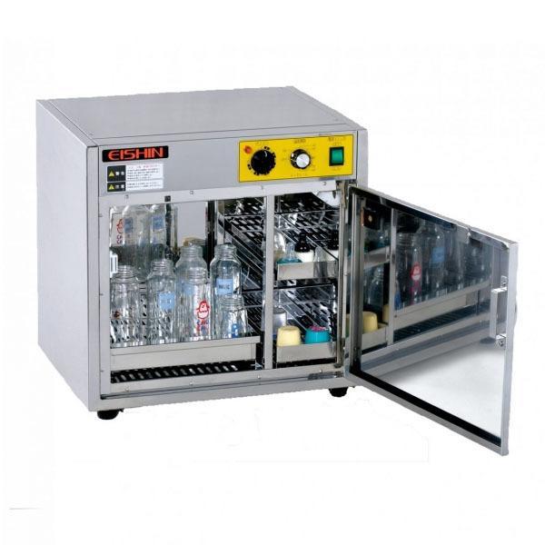 新品:エイシン 哺乳瓶専用殺菌庫 さっきん君 幅480×奥行390×高さ470(mm) HCS-116