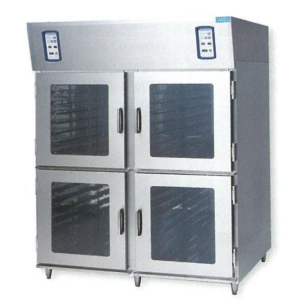 新品:フジサワマルゼン キャビネットホイロ FH-64-2-4 2室4扉タイプ  ベーカリー機器 送料無料 焙炉 製パン機器 業務用