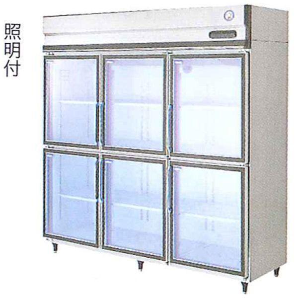 新品:福島工業(フクシマ) リーチイン冷蔵ショーケース 外装ステンレスタイプ 1607リットル 幅1790×奥行795×高さ1950(mm) UGD-180AG7