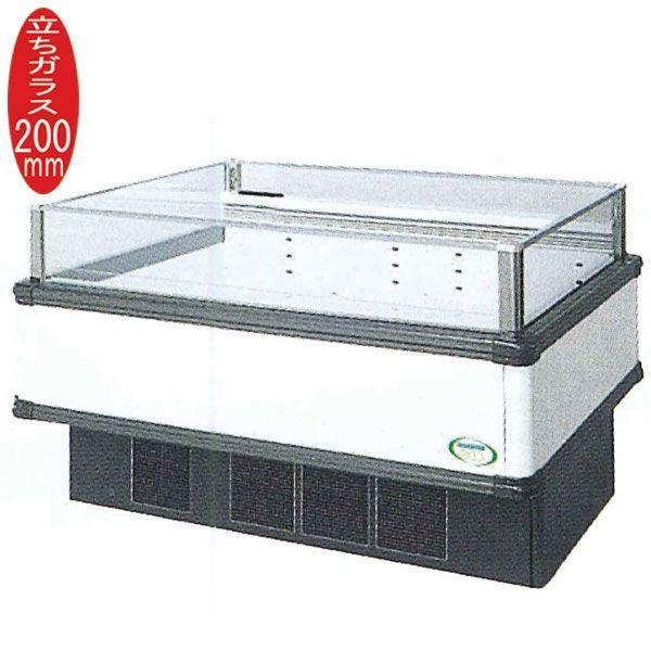 新品:福島工業(フクシマ) インバーター制御アイランドショーケース 冷凍・冷蔵切替ワイドレンジタイプ W1371+(64.5×2)×D1100×H850(mm) IMX-55PWFTAX