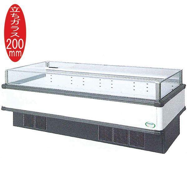 新品:福島工業(フクシマ) インバーター制御アイランドショーケース 冷蔵タイプ W2271+(64.5×2)×D900×H850(mm) IMC-85RWFTAX