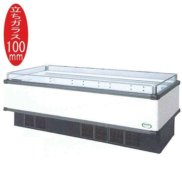 新品:福島工業(フクシマ) インバーター制御アイランドショーケース 冷蔵タイプ W2271+(64.5×2)×D900×H850(mm) IMC-85RGFTAX